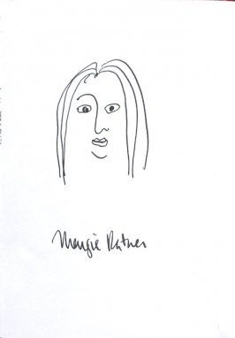 Maggie Ratner, Illustration 52 in the book Sketchbook (Sun Valley, Idaho)
