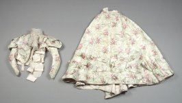 Afternoon dress (bodice and skirt)