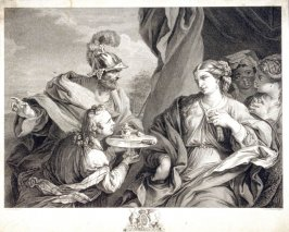 Sophonisba accepting the nuptial present