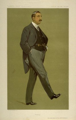 """Housing"" (Sir Arthur Sackville Trevor Griffith-Boscawen) Men of the Day, from Vanity Fair Supplement No. 2285"