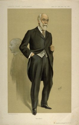 """Mens Sana"" (Sir George Henry Savage, M.D., F.R.C.R.) Men of the Day No. 1317, from Vanity Fair Supplement"