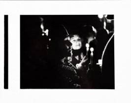 Untitled (Crowd with candles at Harvey Milk Candlelight Vigil, San Francisco)