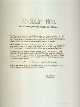 Pendulum (B) from the set, Two Scores
