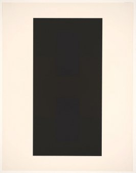 Untitled #9, from the portfolio 10 Screenprints by Ad Reinhardt