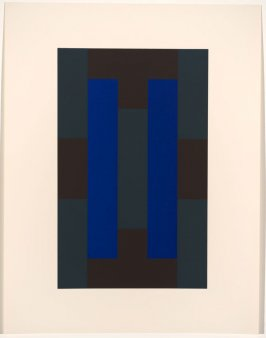 Untitled #5, from the portfolio 10 Screenprints by Ad Reinhardt