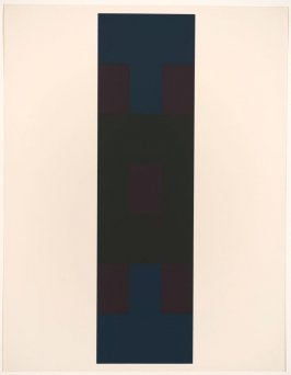Untitled #3, from the portfolio 10 Screenprints by Ad Reinhardt