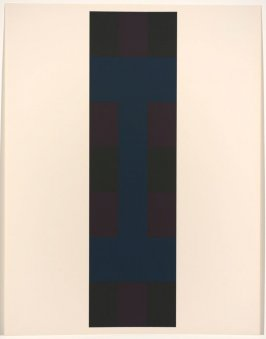 Untitled #4, from the portfolio 10 Screenprints by Ad Reinhardt