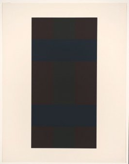 Untitled #8, from the portfolio 10 Screenprints by Ad Reinhardt