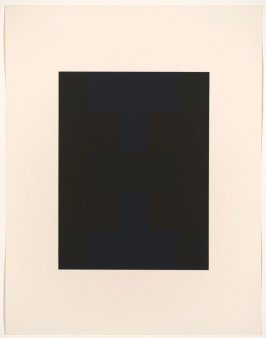 Untitled #1, from the portfolio 10 Screenprints by Ad Reinhardt