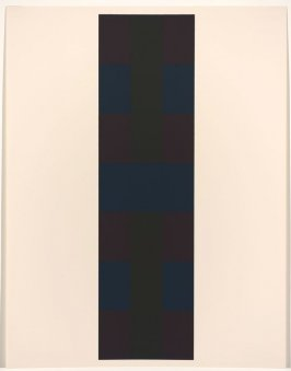 Untitled #2, from the portfolio 10 Screenprints by Ad Reinhardt