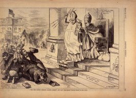 The New Romish Crusade Against Liberty and Law - p.245 Harper's Weekly (29 March 1873)