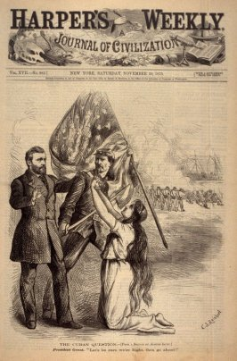 The Cuban Question - Title page from Harper's Weekly 29 November 1873