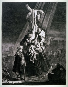 Descent from the Cross: second plate