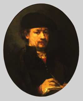 Portrait of Rembrandt Sketching
