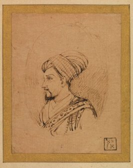 A Medallion Portrait of Muhammad Adil Shah of Bijapur