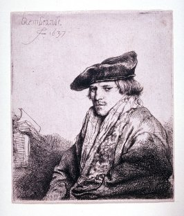 Young Man in Velvet Cap (Petrus Sylvius?)