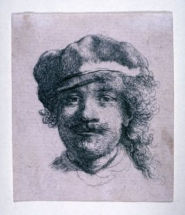 Rembrandt Wearing a Soft Cap