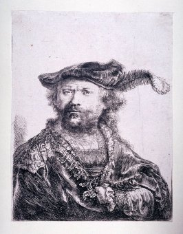 Self-Portrait with a Velvet Cap with Plume