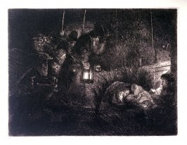 Adoration of the Shepherds: a night piece