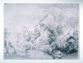 Large Lion Hunt