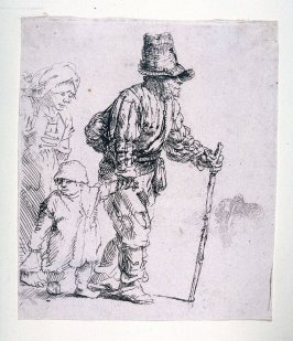 Peasant Family on the Tramp