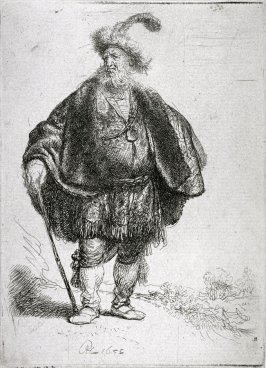 The Persian (Man Standing in an Oriental Costume)
