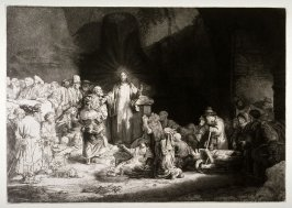Christ Healing the Sick (Hundred Guilder Print)
