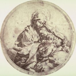 Madonna and Child in the Round (copy in reverse)