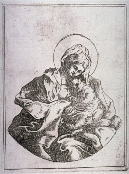 Virgin and Child, copy after Guido Reni