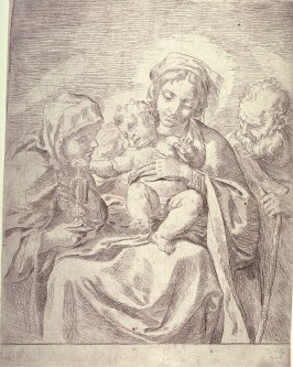 The Holy Family with St. Claire