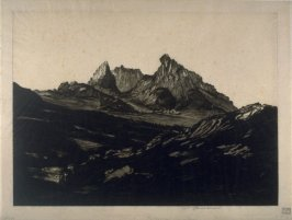 The Cobbler (landscape with mountains)