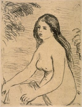 Femme nue assise (Seated Nude)