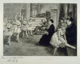 Repos, plate 7 from Le Nouvel Opéra