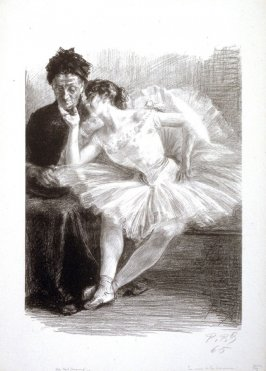 Danseuse et sa mère published in L'Estampe originale, Album VIII