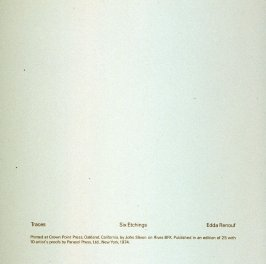 Title page: Traces