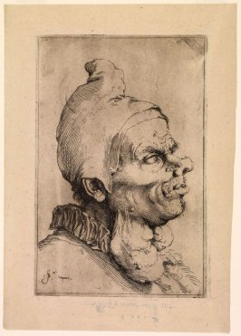 Large Grotesque Head