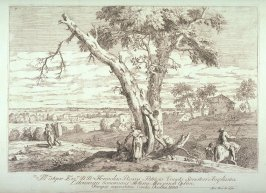 Landscape With a Fruit Tree, pl. 7 from the series Landscapes
