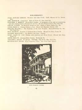 Old Spanish House, Illustration 26 in the book Block Printing in the School by William Seltzer Rice