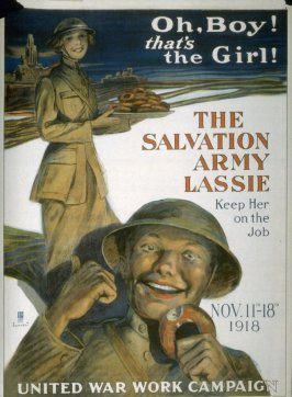 Oh Boy! thats The Girl! - World War I poster