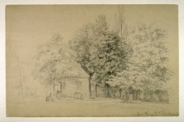 Mount Vernon - Caretaker's House and Park Trees