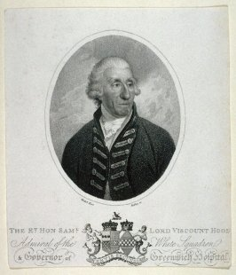 The Right Honorable Samuel Lord Viscount Hood Admiral of the White Squadron