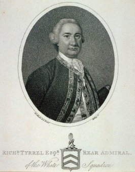 Richard Tyrell, Esquire, Rear Admiral of the White Squadron