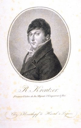 Rudolphe Kreutzer, First Violinist of His Majesty the Emperor and King