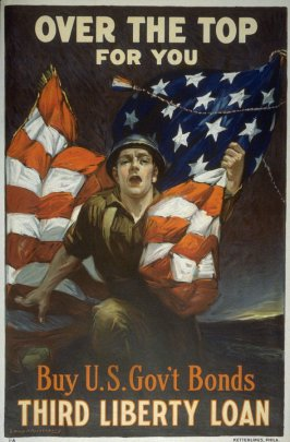 Over the Top for You - World War I poster