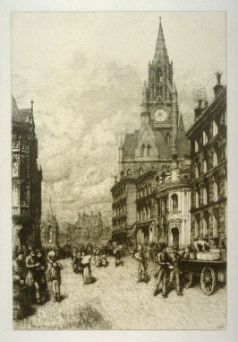 The Town Hall, Manchester, England