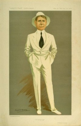 """""""The Flying Stage"""" (Mr. Robert Loraine), Men of the Day No. 1313, from Vanity Fair Supplement"""