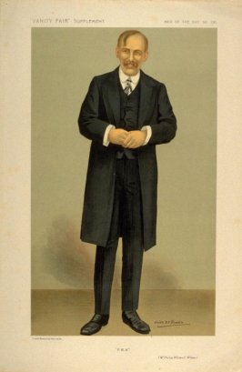 """""""P.W.W."""" (Mr. Philip Whitwell Wilson), Men of the Day No. 1311, from Vanity Fair Supplement"""
