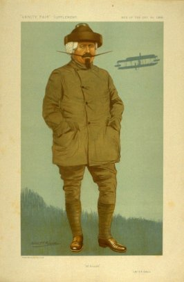 """""""All British"""" (Mr. S.F. Cody), Men of the Day No. 1303, from Vanity Fair Supplement"""