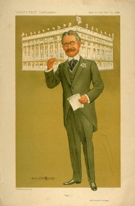 """Self—"" (Mr. H. Gordon Selfridge), Men of the Day No. 1308, from Vanity Fair Supplement"