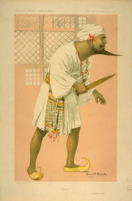 """Kismet"" (Mr. Oscar Asche.), Men of the Day No. 1307, from Vanity Fair Supplement"